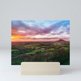 Sun Down Mini Art Print