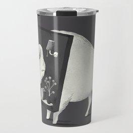 Not Amused (Dark) Travel Mug