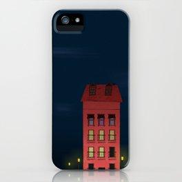Sunday Night iPhone Case