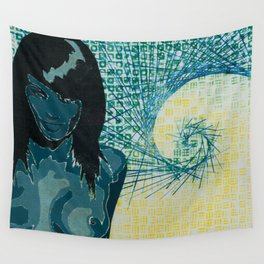 "Untitled ""Dice Lady #1"" Wall Tapestry"