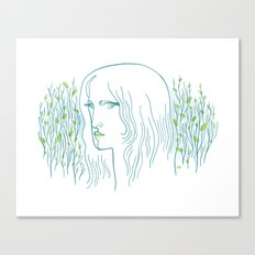 Woods Woman 1 Canvas Print