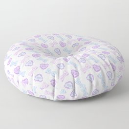 Pretty Baby Brand Whore Allover Pastel Pink Floor Pillow
