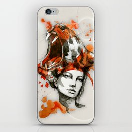 Tora by carographic, Carolyn Mielke iPhone Skin