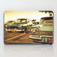 cuba iPad Cases featuring Cuba cars by gabyjalbert