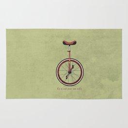 Unicycle Rug