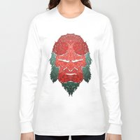 abyss Long Sleeve T-shirts featuring Hell abyss by Daniac Design