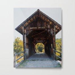 Martin Bridge Metal Print