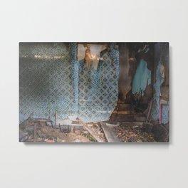 Barkman House, Arena, North Dakota 2 Metal Print