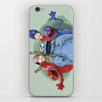 cookie monster iPhone & iPod Skins featuring cookie monster by ErsanYagiz