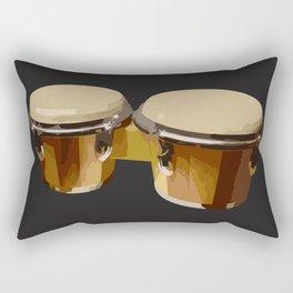 Bongos Drums Rectangular Pillow