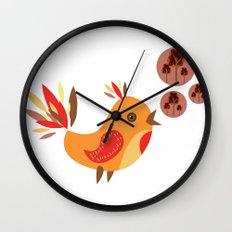 Talking Bird Wall Clock