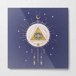 Magical night tarot illustration no5 Metal Print