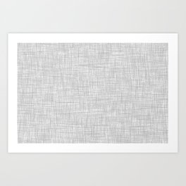 Light Gray Pattern Art Print