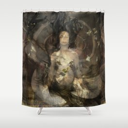 The Birth Of Sebei Shower Curtain