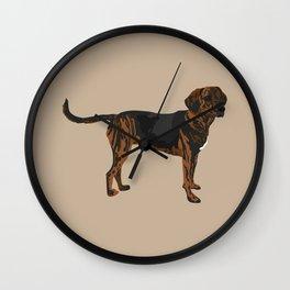 Riley plott hound Wall Clock