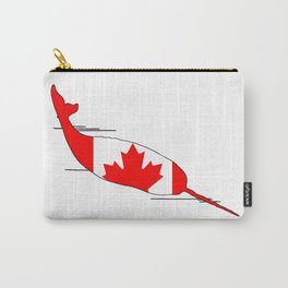 "Narwhal ""Canada"" Carry-All Pouch"