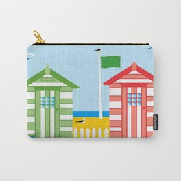 BEACH HUT Carry-All Pouch
