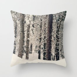 Winter Woods 1 Throw Pillow