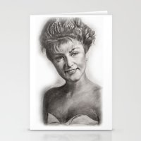 laura palmer Stationery Cards featuring TWIN PEAKS - LAURA PALMER by William Wong