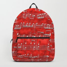 Nota Bene (red) Backpack