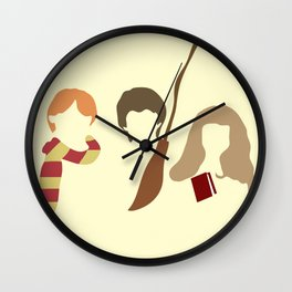 Baby Wizard Trio Wall Clock