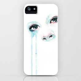 Cold Stare iPhone Case