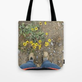 Muddy Boots Tote Bag