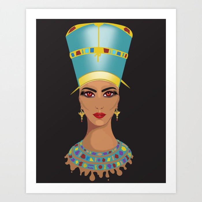 Nefertari Art Print