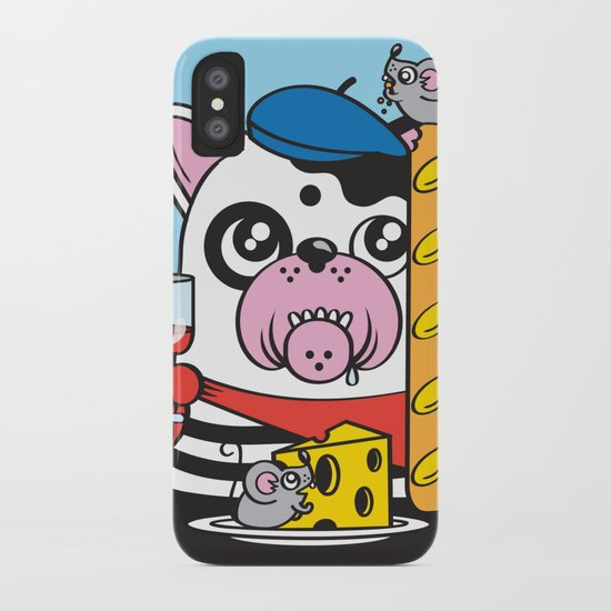 The Frenchie Connection iPhone Case
