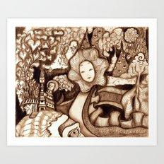 Snake (Color Variant) Art Print