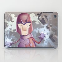 magneto iPad Cases featuring Magneto Kaffee Time by Emilio Rizzo