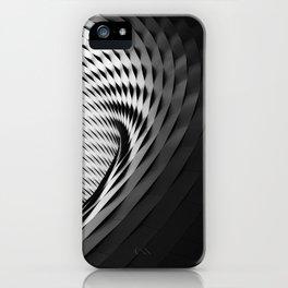 architecture black white iPhone Case