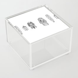 Anonymous - Egypt, Africa, China, Mexico Acrylic Box