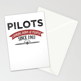Pilot Proud Aviation Lover Gift Idea Stationery Cards