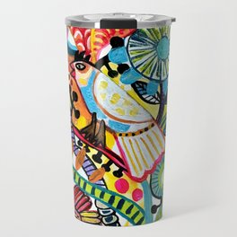 Birds party Travel Mug