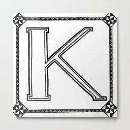 DIY swearwords K Metal Print