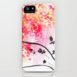 Orchid Joy iPhone Case
