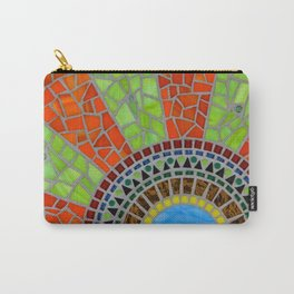 Color Wheel mosaic art Carry-All Pouch