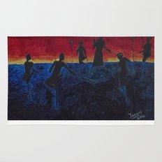 The Fishermen at Sunset Rug