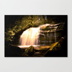 Appalachian Waterfall Canvas Print