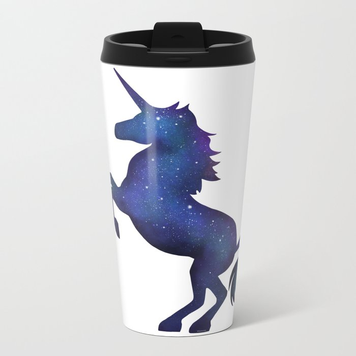 Unicorn Metal Travel Mug
