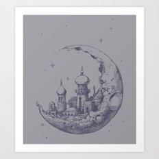 Arabian Crescent Art Print
