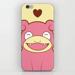 Slowpoke Love iPhone Skin