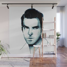 Zachary Quinto Wall Mural