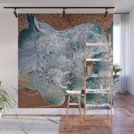 Lake Erie Islands in winter Wall Mural
