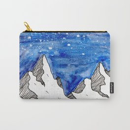 Watercolour mountains Carry-All Pouch