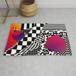 Decent of the humanity Rug