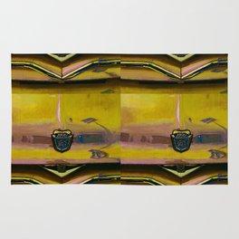 Ford 8 Classic Truck Art - Saffron Yellow Rug