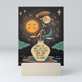 Deepest heart's desires Mini Art Print