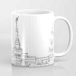 Reno Nevada LDS Temple Sketch Coffee Mug
